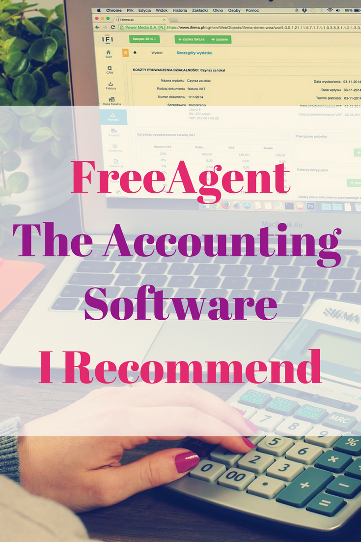 FreeAgent The Accounting Software I Recommend