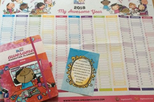 Awesome Marketing Planner System 2018