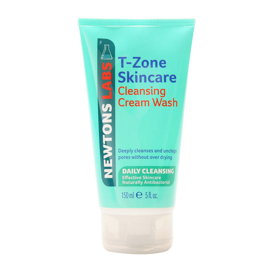 T zone deep pore cleansing  cream wash
