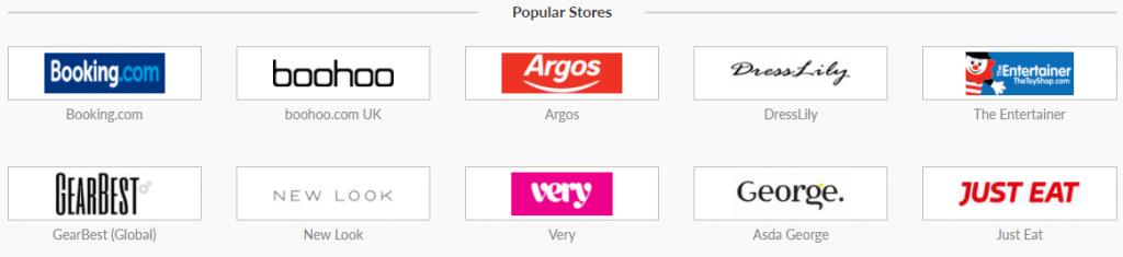 Boom25 Popular Stores