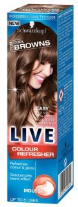 Schwarzkopf LIVE Colour Mousse Cool Brown