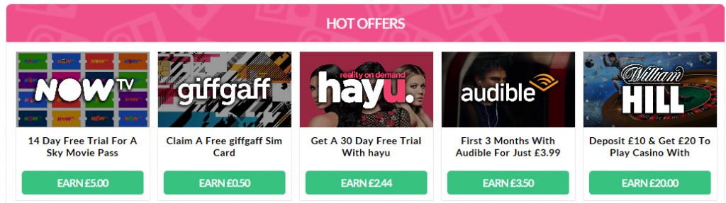 Oh My Dosh Hot Offers