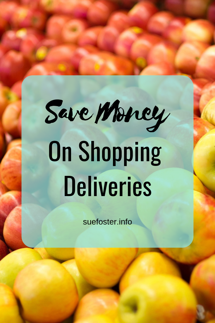 Save money on shopping deliveries