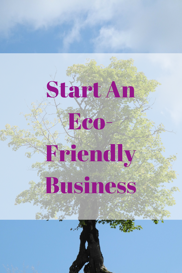 Start An Eco-Friendly Business