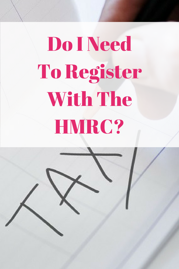 Do I Need To Register With The HMRC?