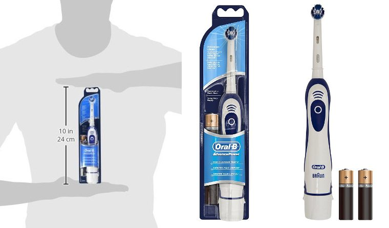 Oral B Battery Operated Toothbrush Banner