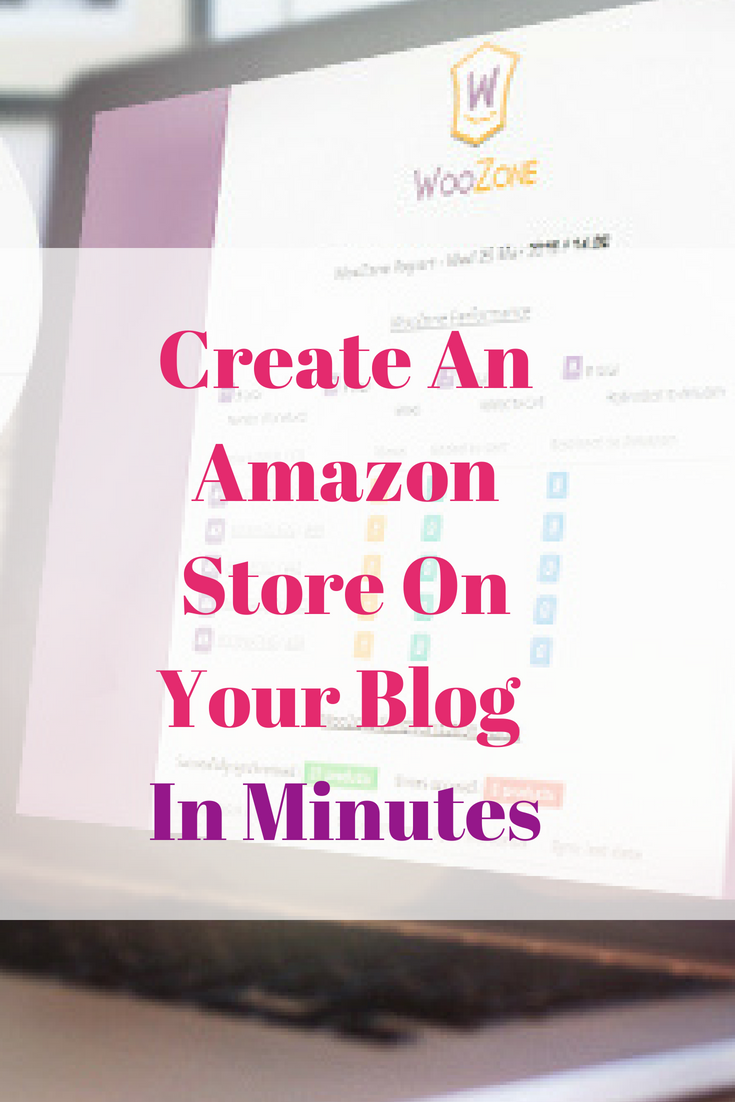 Create An Amazon Store On Your Blog In Minutes