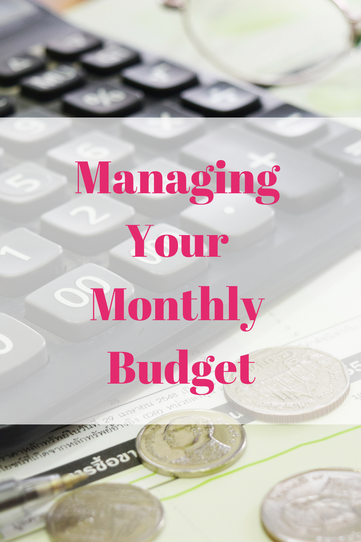 Managing Your Monthly Budget