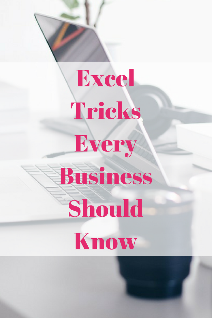 Excel Tricks Every Business Should Know