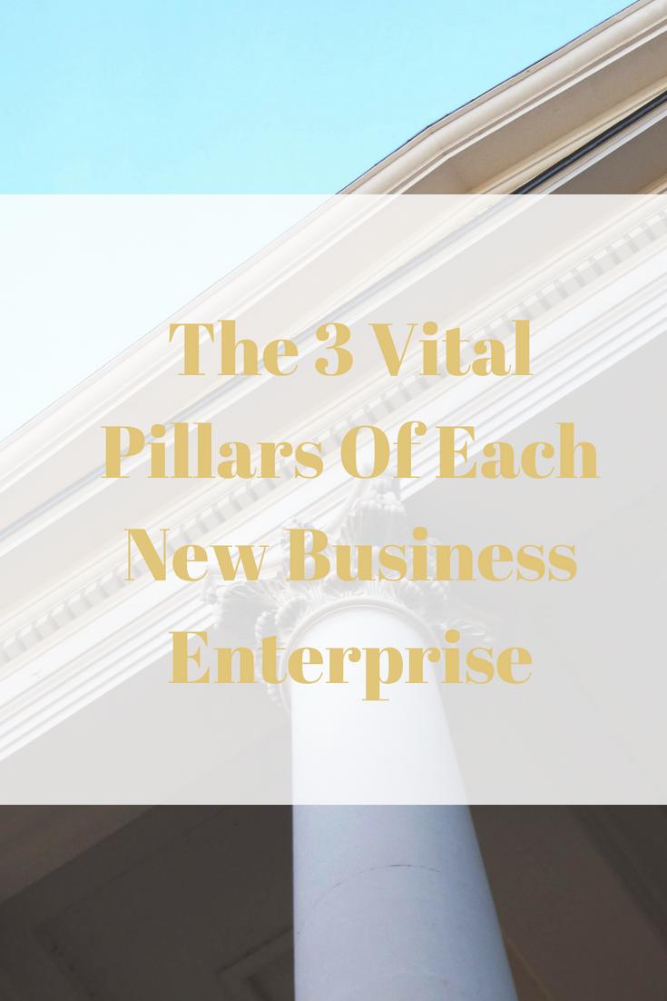 The 3 Vital Pillars Of Each New Business Enterprise