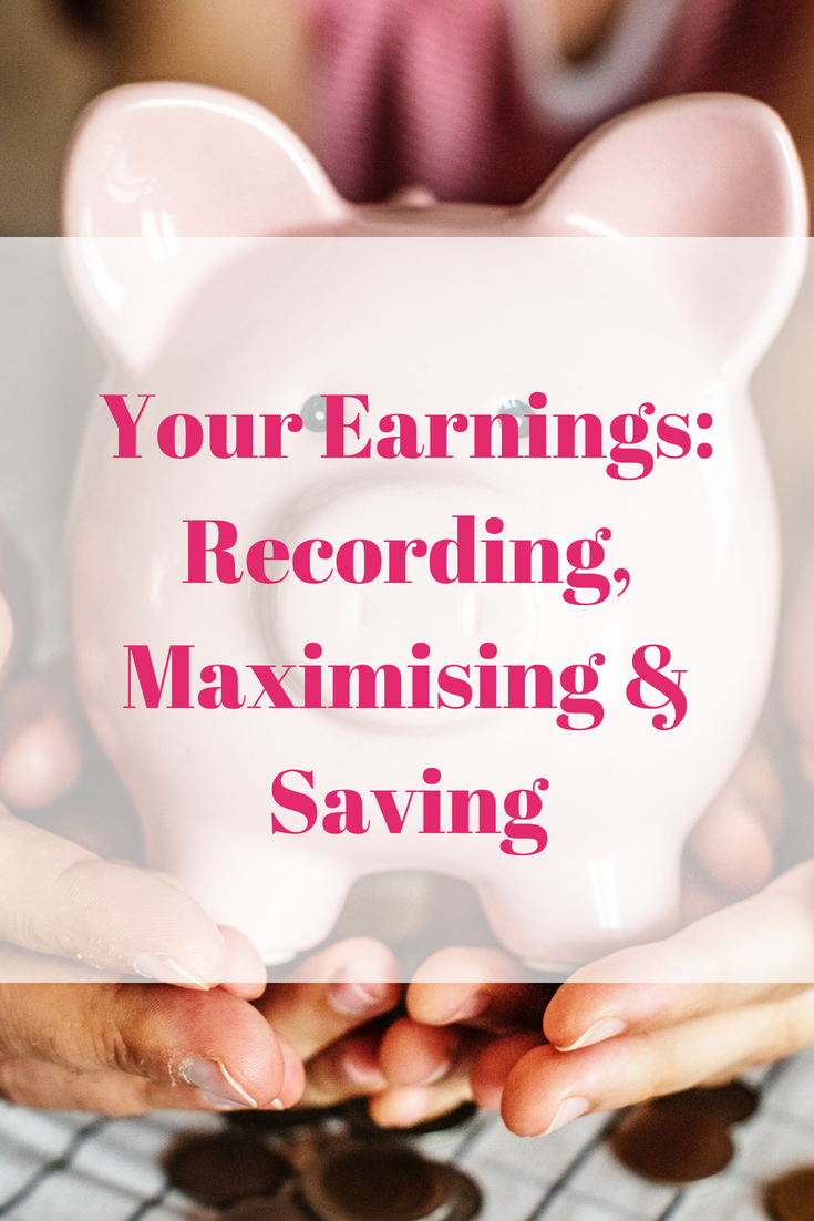 Your Earnings_ Recording, Maximising & Saving