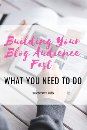 Building Your Blog Audience Fast - What You Need To Do