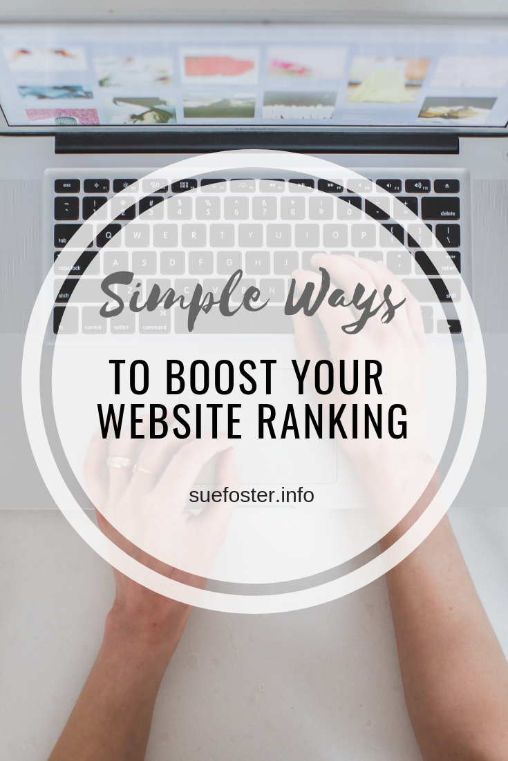 Simple Ways to Boost Your Website Ranking