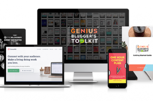 The Genius Blogger's Toolkit 2018 Is Here!
