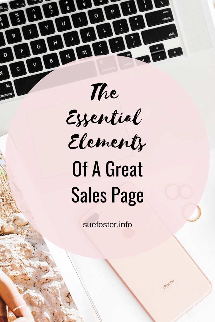 The Essential Elements Of A Great Sales Page