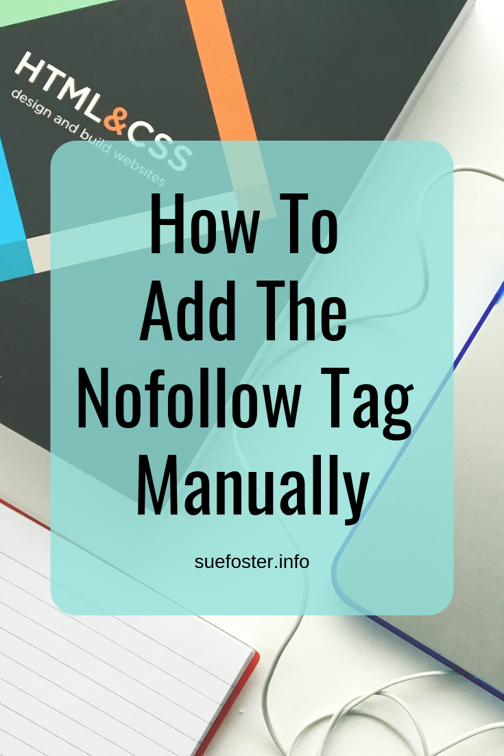 How To Add The Nofollow Tag Manually