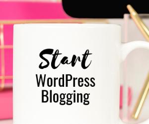 Start WordPress Blogging Support Group