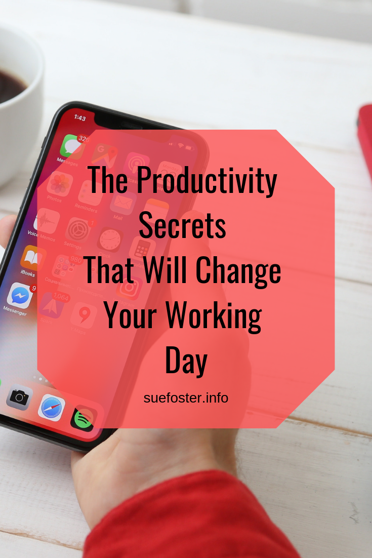 The Productivity Secrets That Will Change Your Working Day