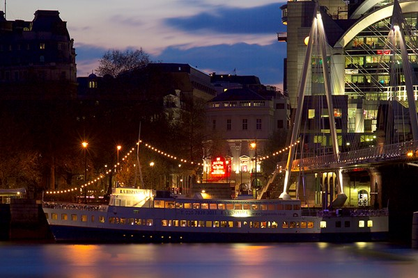 3 Course Meal with Processco aboard RS Hispaniola and Sightseeing Cruise for Two