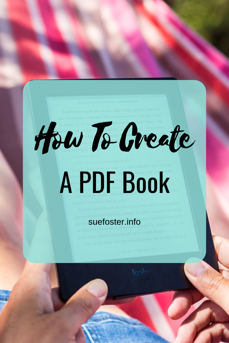 How To Create A PDF Book
