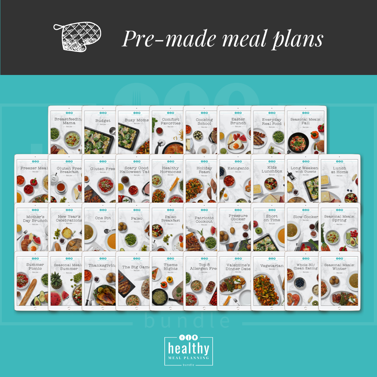 Pre-made meal plans