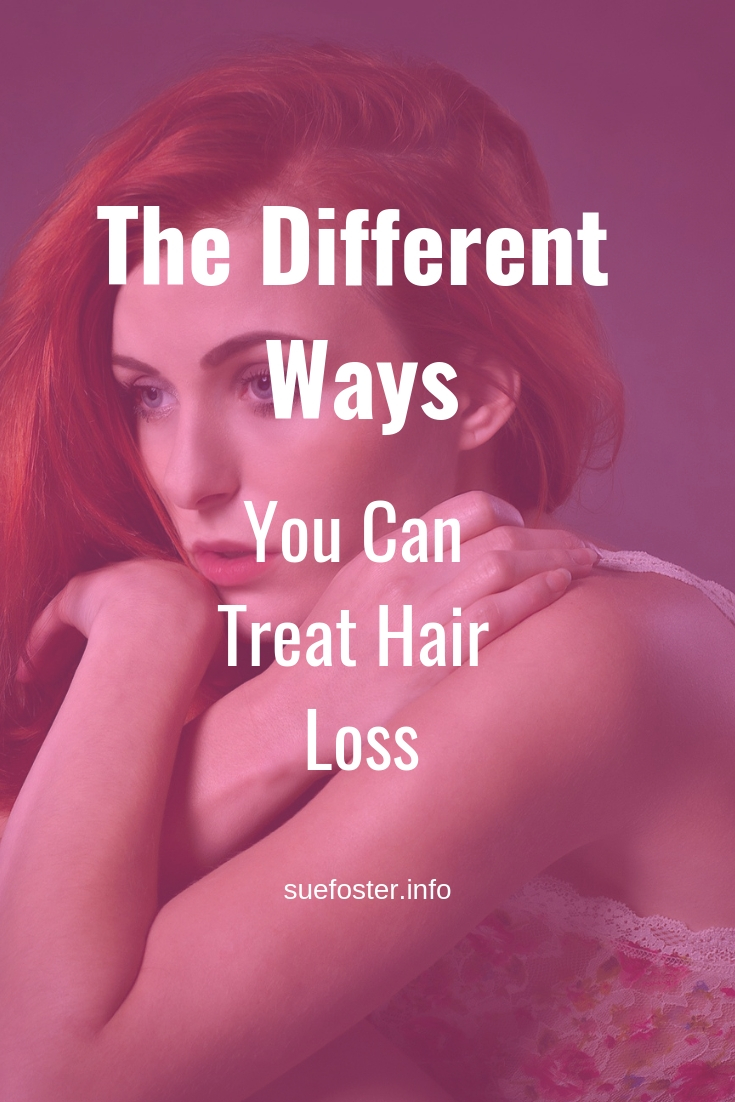 The different ways you can treat hair loss