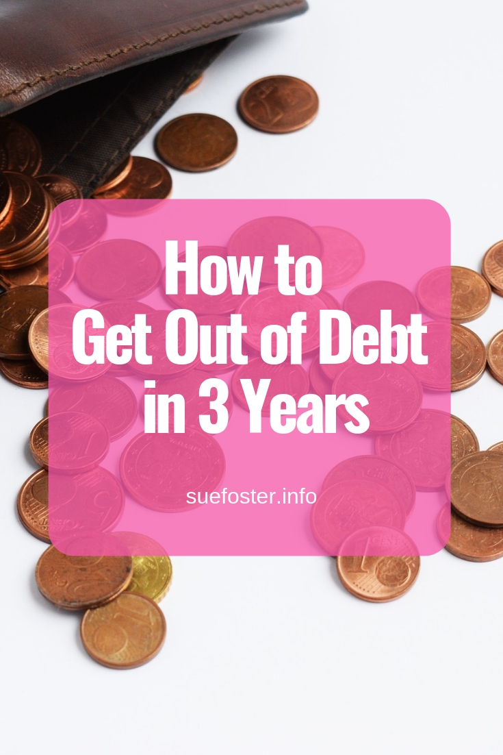 How to Get Out of Debt in 3 Years