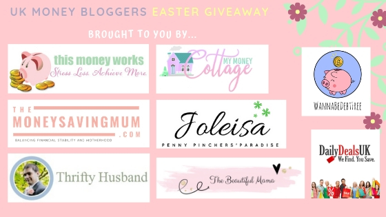 UK Money Blogger's Easter Giveaway!