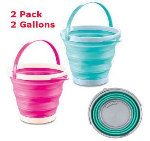 Foldable buckets