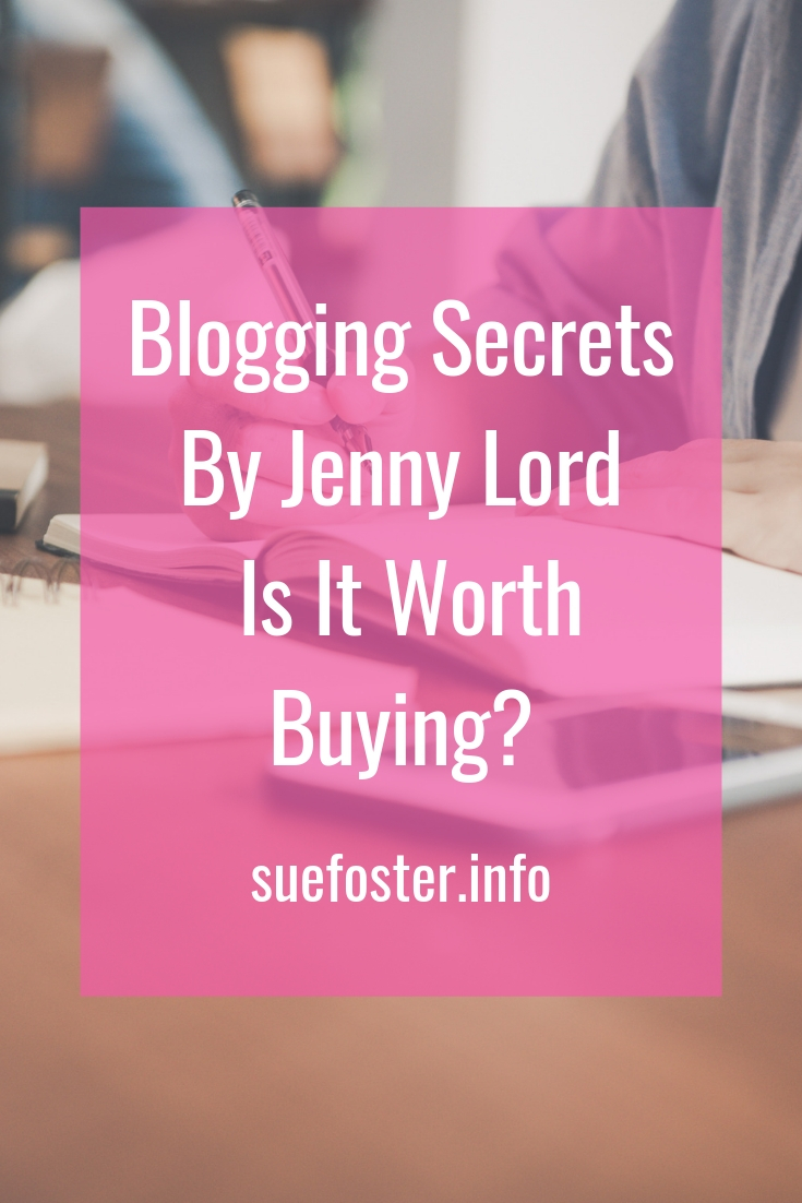 Blogging Secrets By Jenny Lord, Is It Worth Buying?