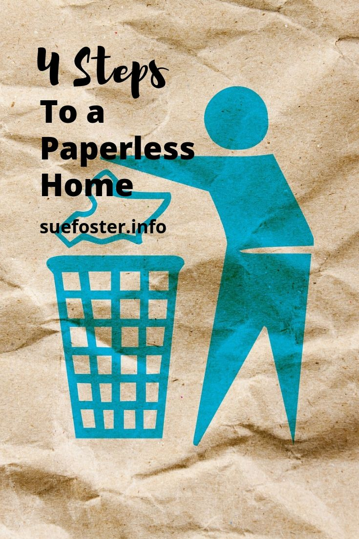 4 steps to a paperless home