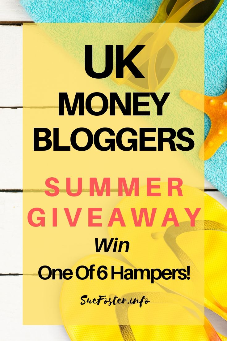 UK Money Bloggers Summer Giveaway Win One Of 6 Hampers