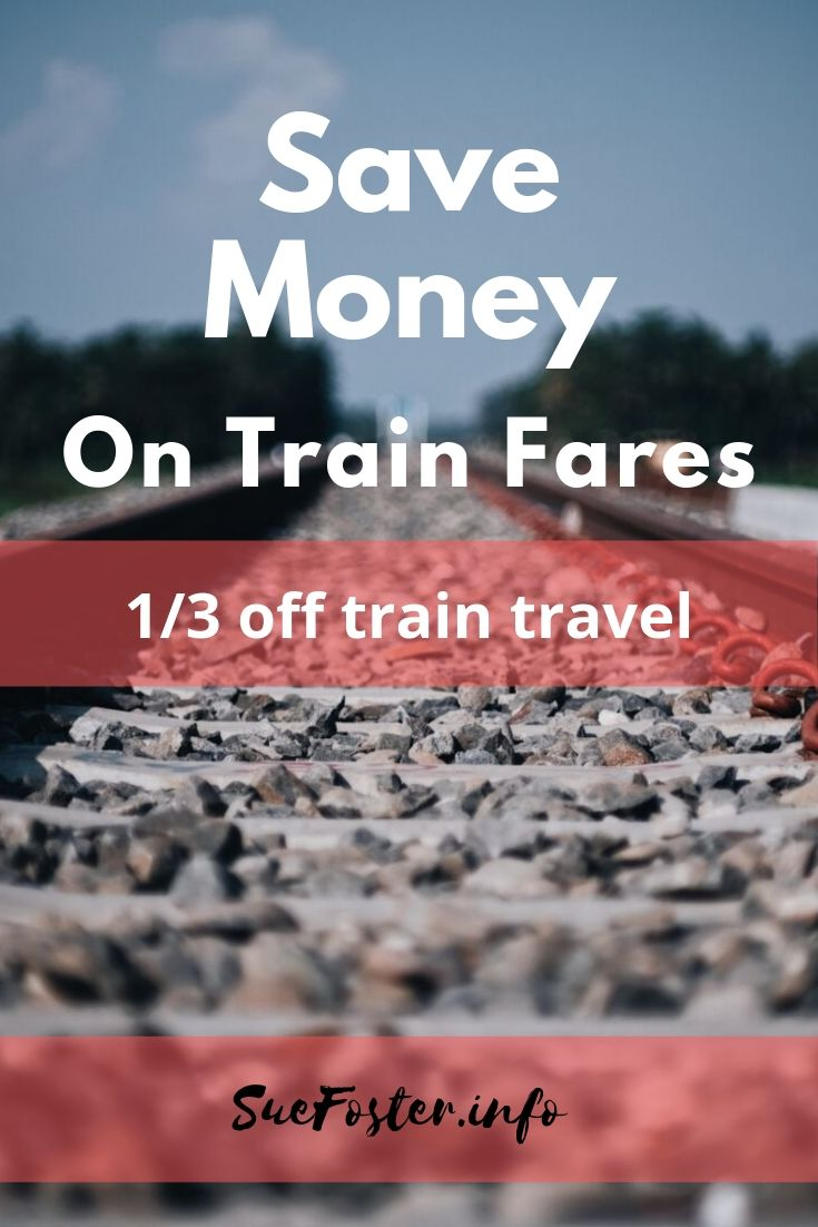 Save money on train fares - 1/3 off train travel