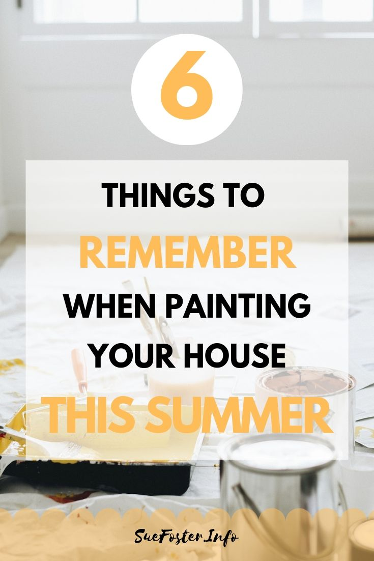 Things To Remember When Painting Your House This Summer