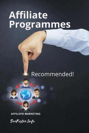 Recommended affiliate programmes