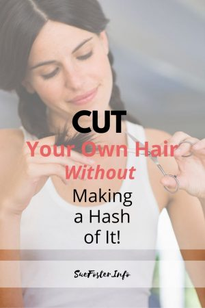 Cut your own hair without making a hash of it!