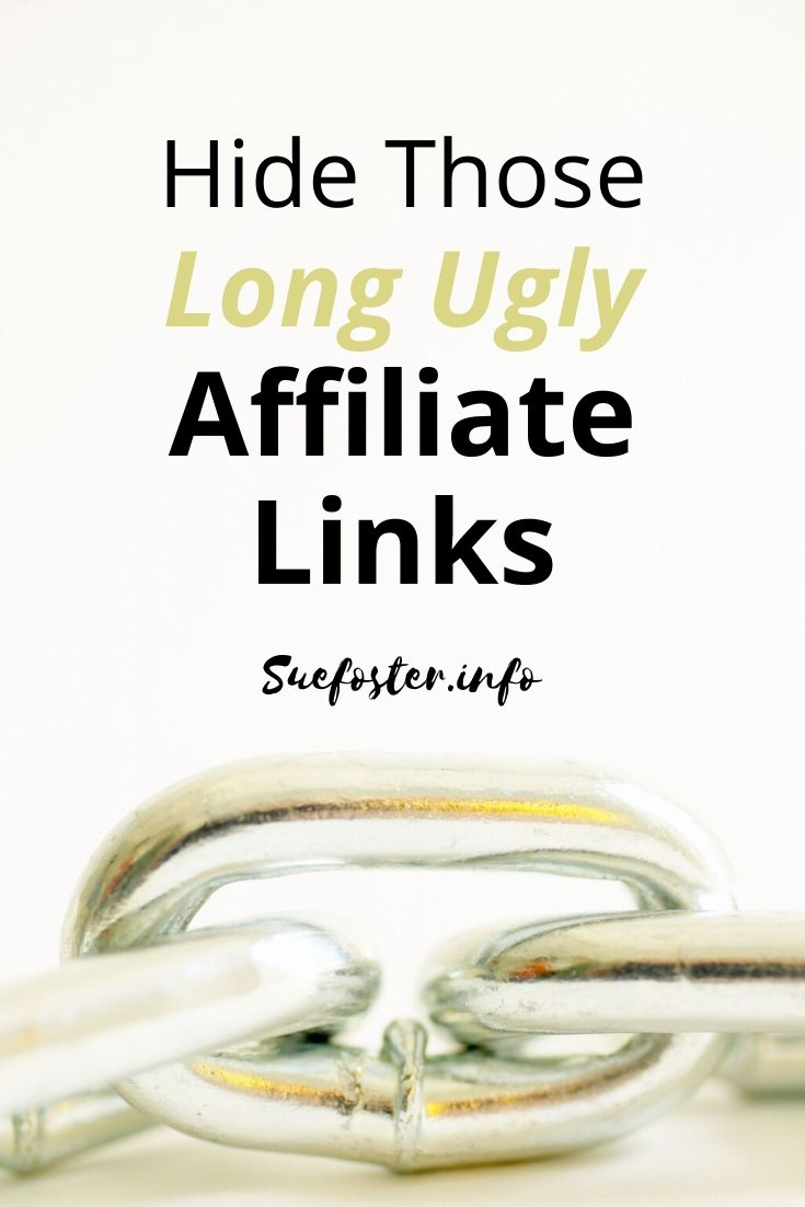 Easily hide long ugly affiliate links