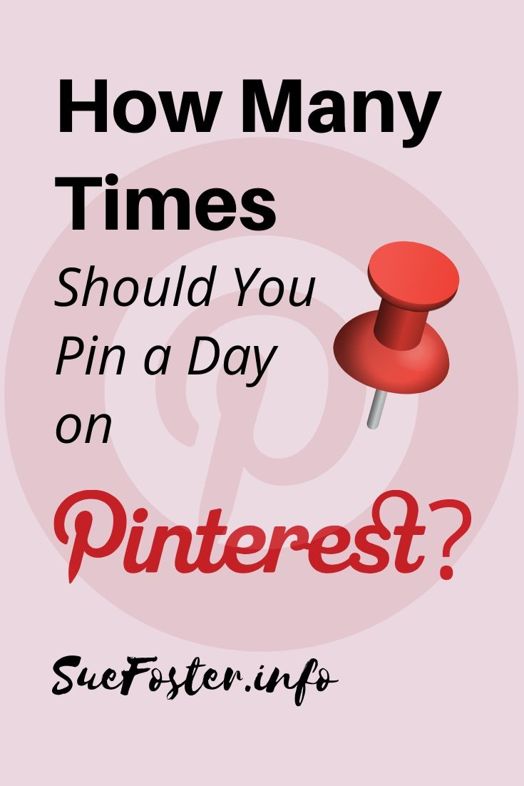 How many time a day should you pin?