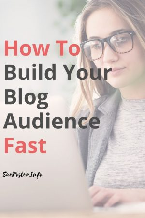 How to build your blog audience fast