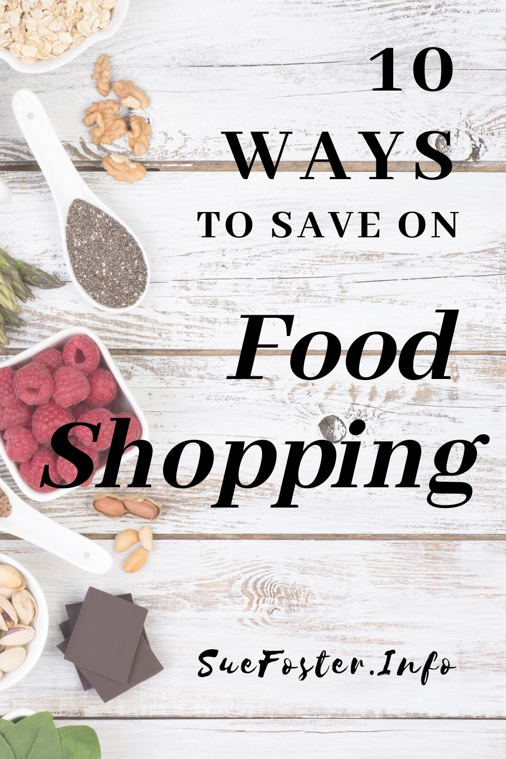 10 ways to save on the weekly shop.