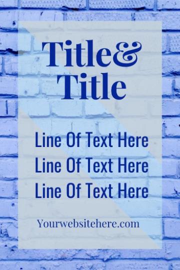 6 editable Canva Pinterest template files 1