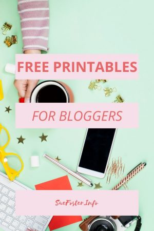 Free Printables For Bloggers