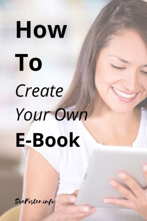 How to create your own e-book with chapter navigation