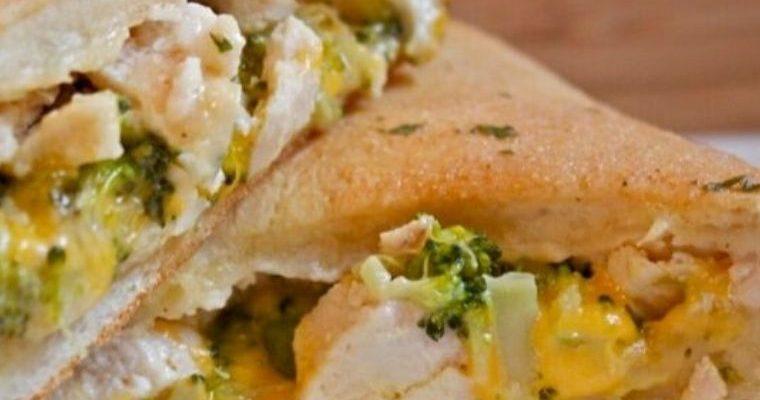 Cheesy Chicken Broccoli Pockets