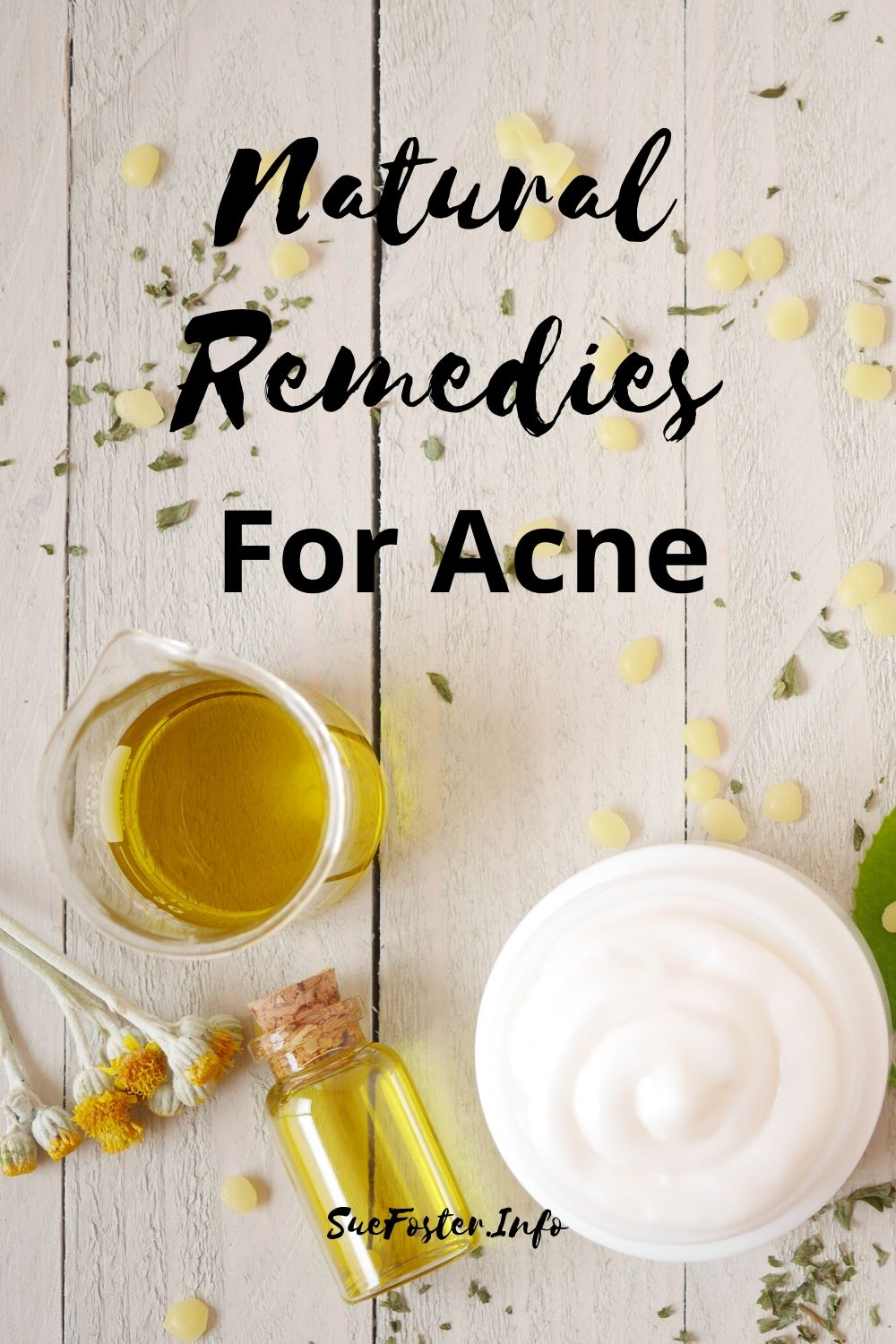 Natural remedies for acne.