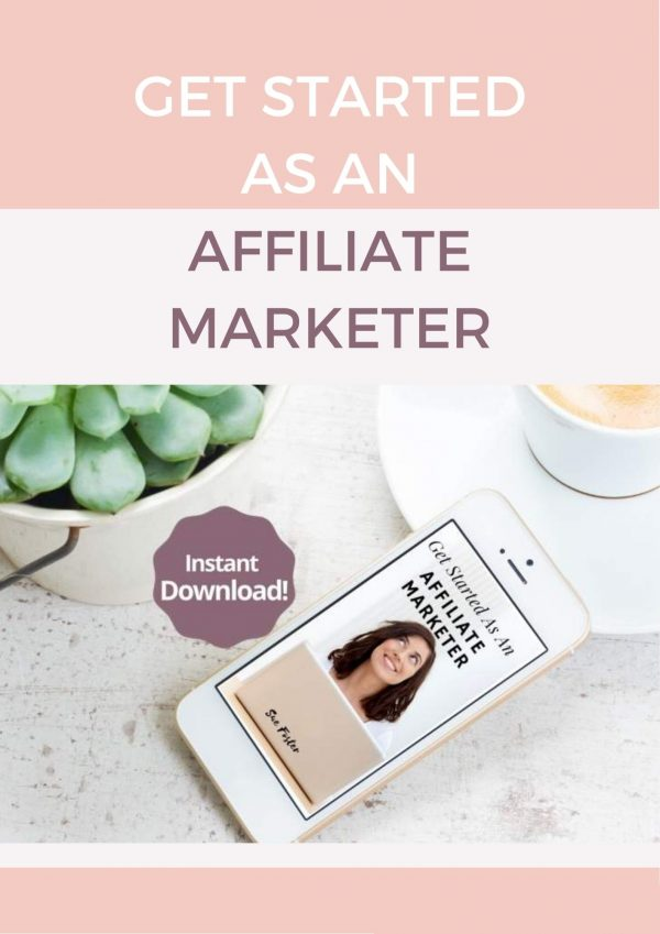 Get Started As An Affiliate Marketer Cover