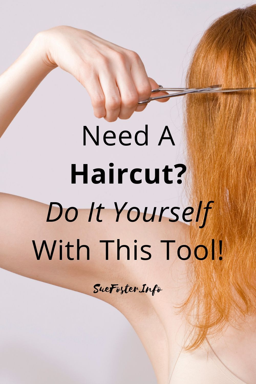 Need a haircut but your hairdresser isn't available? Do it yourself using this handy tool so that you don't make a mess of it!