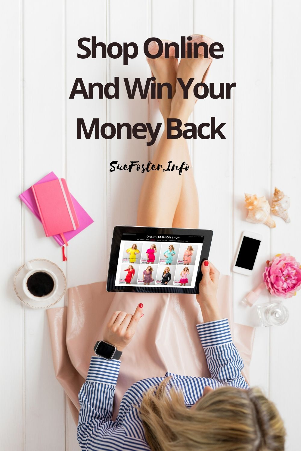 Shop online with over 600 top brands. Simply purchase what you would buy anyway and get a chance to win your money back.