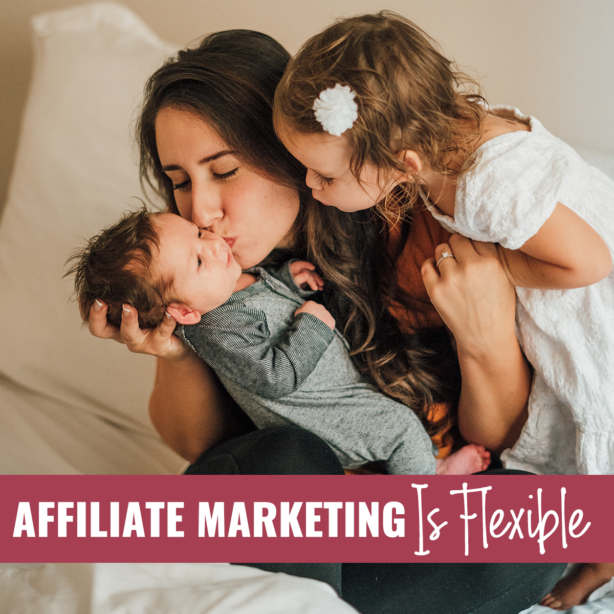 Affiliate marketing is flexible
