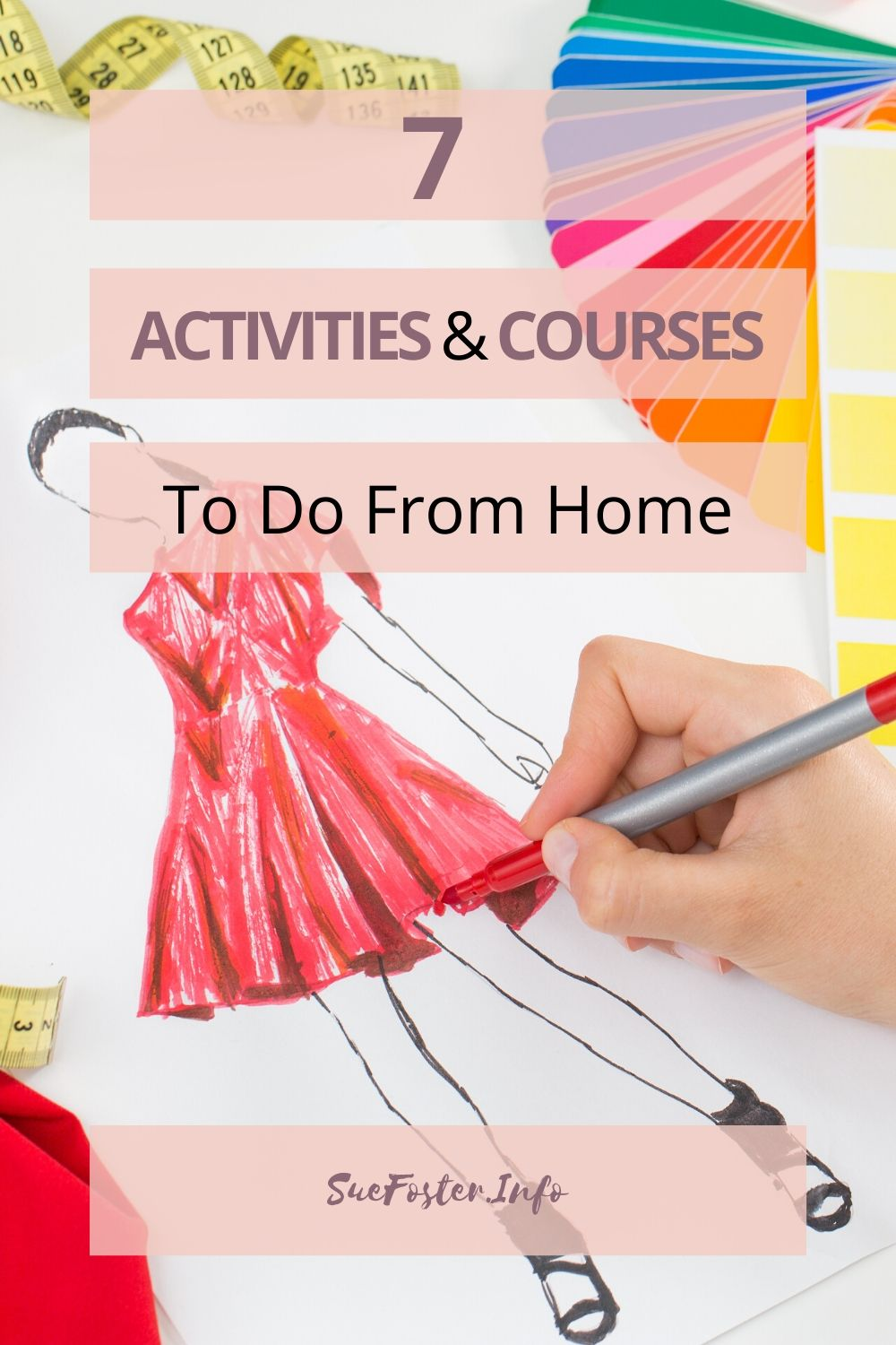 I've put together seven great activities and courses that can be done from home and they're perfect for keeping all the family occupied, including some free activities to take advantage of!